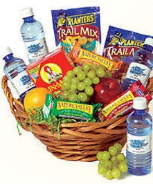 Health Food Gift Basket delivered Baton Rouge, LA