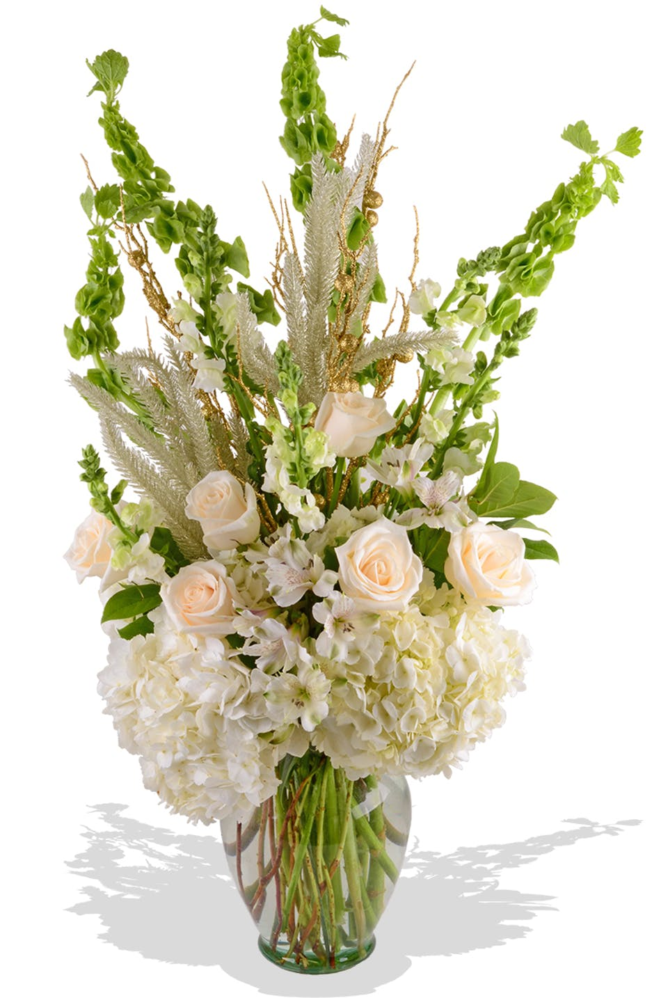 White New Year's Flowers Baton Rouge, LA - Same-day Delivery by Billy Heroman's