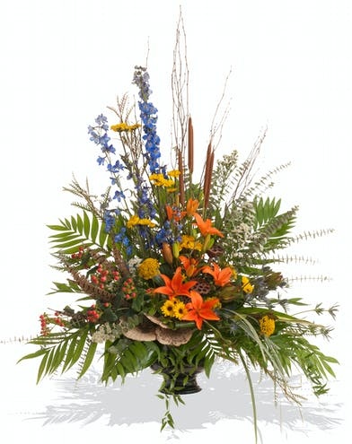 The Woodlands urn arrangement delivered in Baton Rouge, LA.