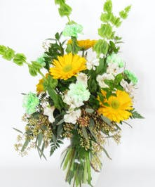Irish mix flower arrangement for st patricks day delivered baton rouge la