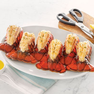 Delicious lobster tails shipped nation wide