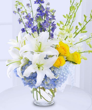 Welcome New Baby Boy Flowers Delivered In Baton Rouge La Billy