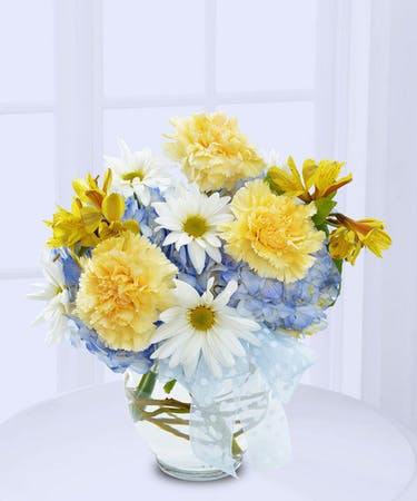 Welcome New Baby Boy Flowers Delivered In Baton Rouge La