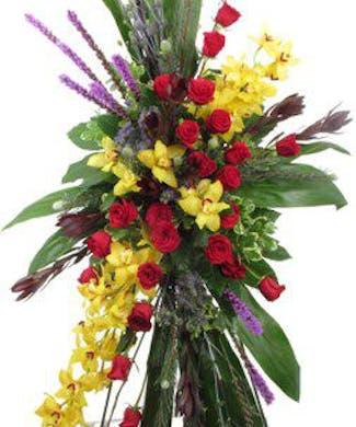 Orchid & Rose Splendor
