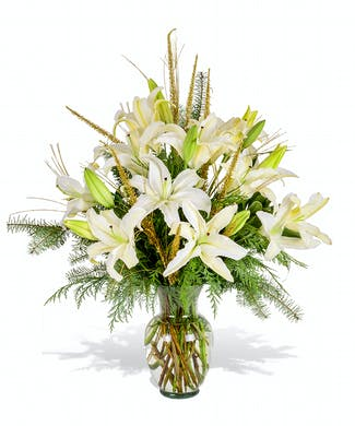 Lilies-A-Leaping
