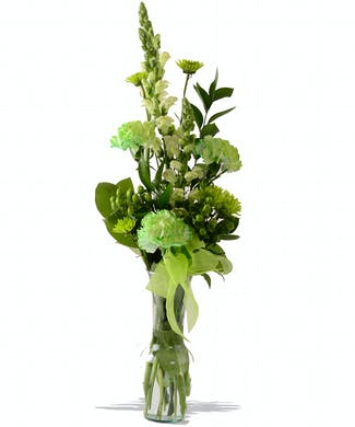 St Patricks Day Bud Vase