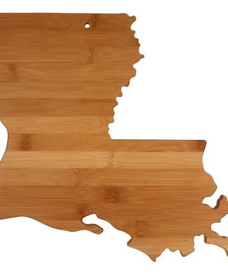 Louisiana Cutting Board - Totally Bamboo