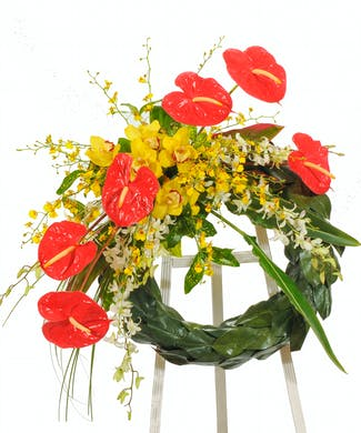 Wreath Stand