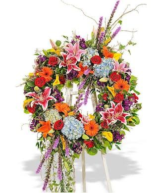 Vivid Beauty Wreath