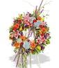 Vivid Beauty Wreath - Shown