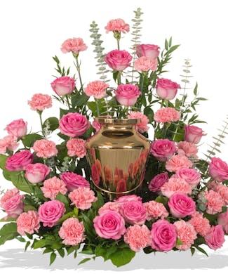 Cremation Urn Wreath