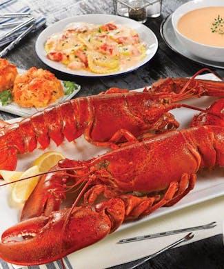 Lobsterpalooza! Gram dinner for two