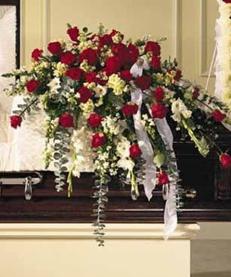 Traditional Sympathy Casket Spray