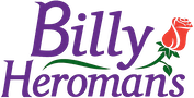 Logo for Billy Heroman's Florist Baton Rouge