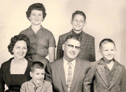 Billy Heroman and family, just after founding the business in the mid 1950s